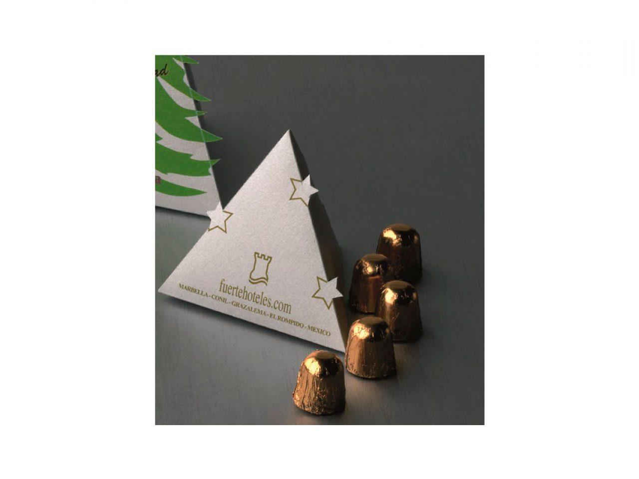 Arbol de navidad peque o con 5 bombones the new present - Arbol de navidad pequeno ...