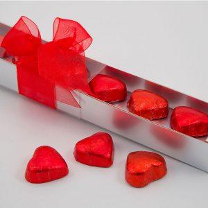 Estuche San Valentín con seís bombones