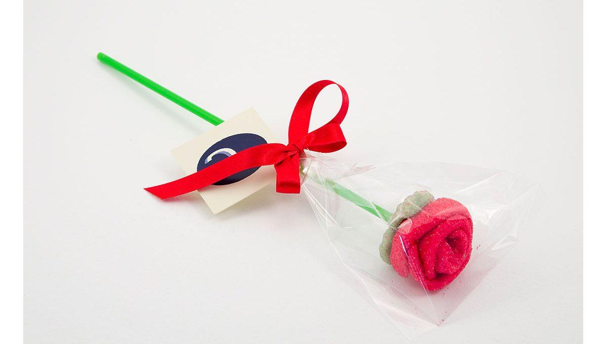 Piruleta Marshmallow Rosa
