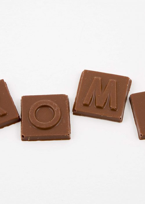 Letras de chocolate